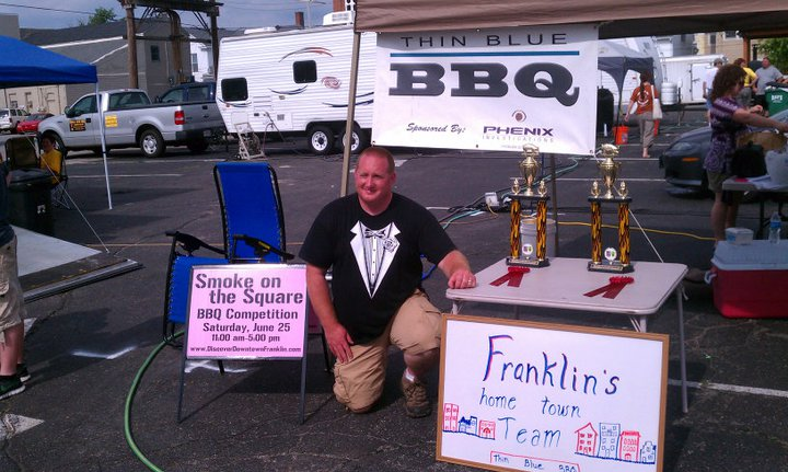 Brian trophies Franklin IN 2011