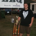 Nick with Trophy Murphysboro, IL 2010